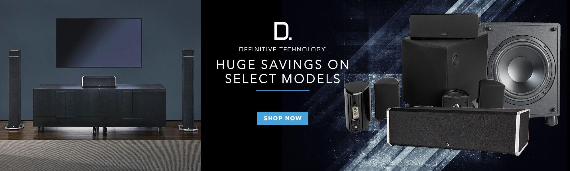 Huge Savings on select models