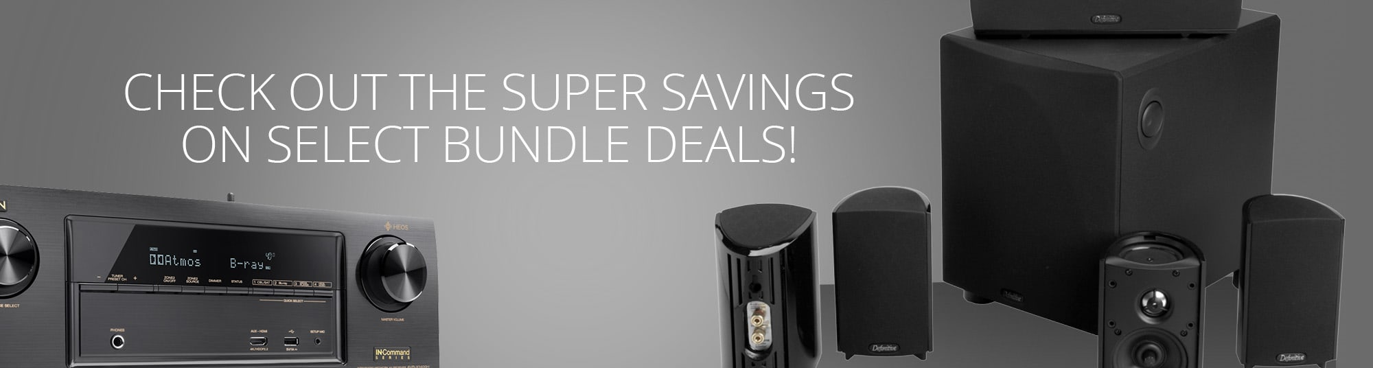 Check out the Super Savings on Select bundle deals!