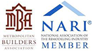 MBA – Metropolitan Builders Association of Milwaukee -- NARI – National Association for the Remodeling Industry