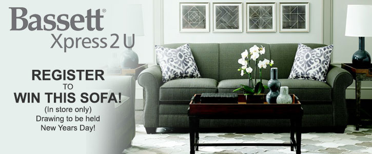 Register to Win a Sofa