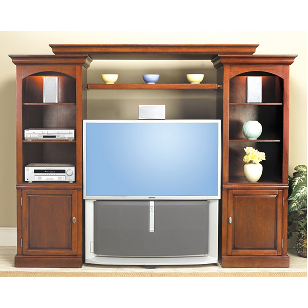 Welton Four Piece Home Theater Wall Unit