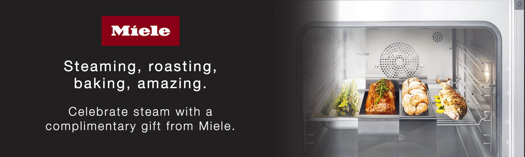 Miele Steam promotion