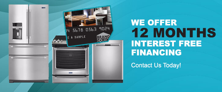 We Offer 12 Months Interest Free Financing