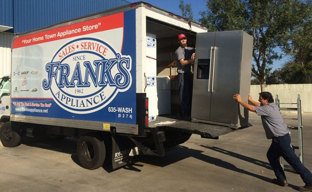 Frank's Appliance Delivery Truck