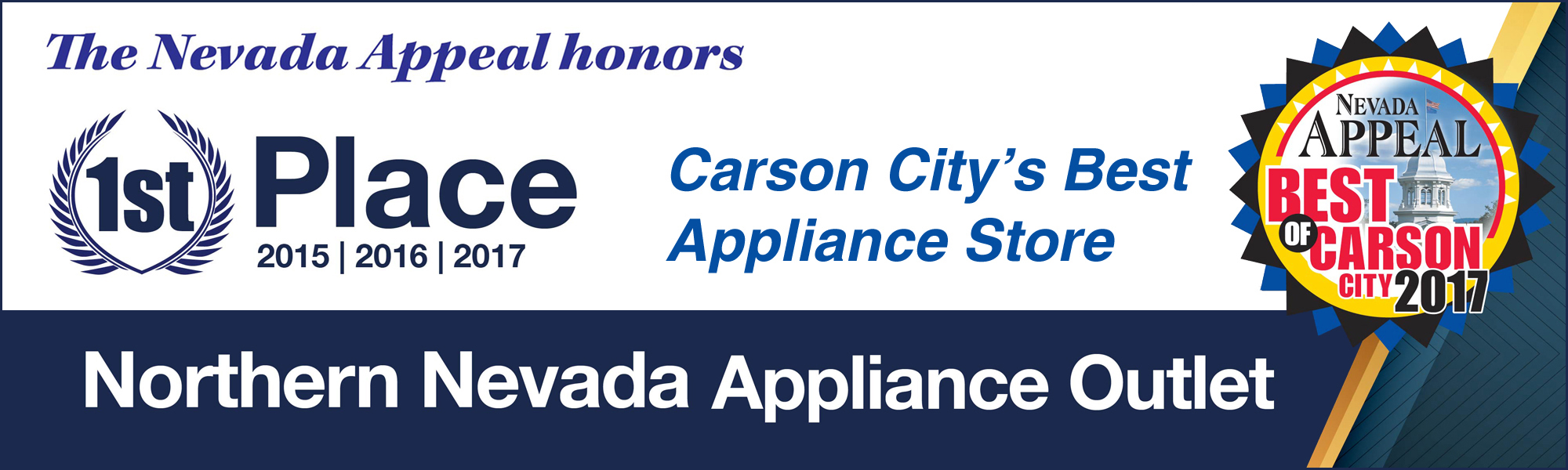 Carson City's Best Appliance Store