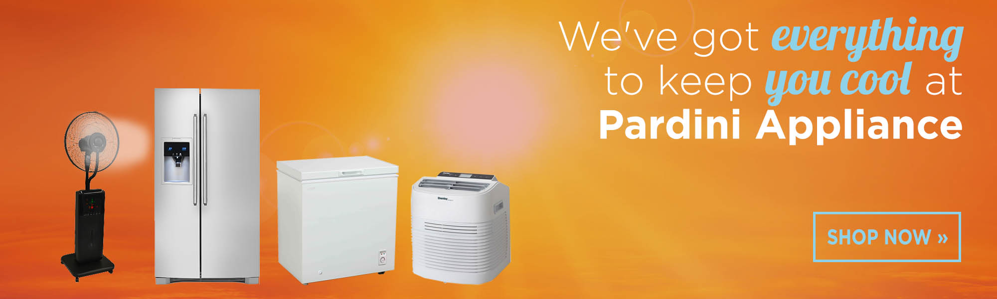 Stay Cool with Pardini's