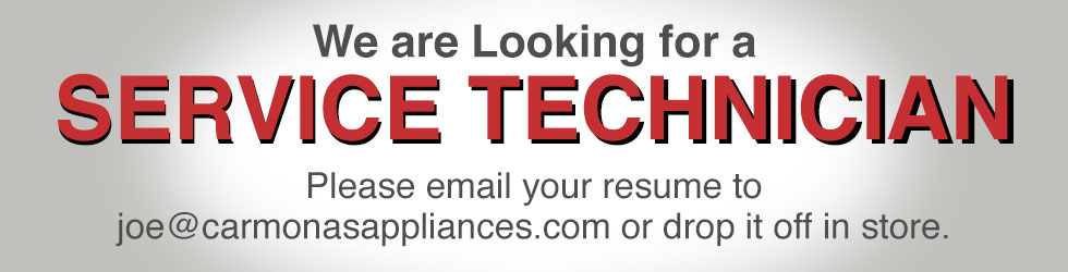 We are Looking for a Service Technician