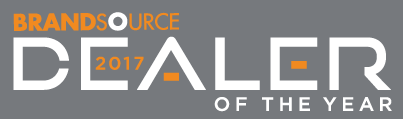 BrandSource Dealer of the Year Logo