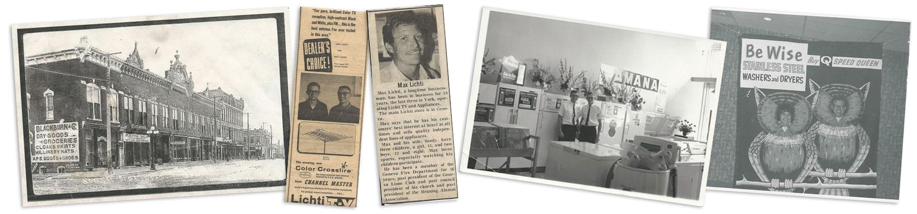 Lichti's Newspaper Clippings