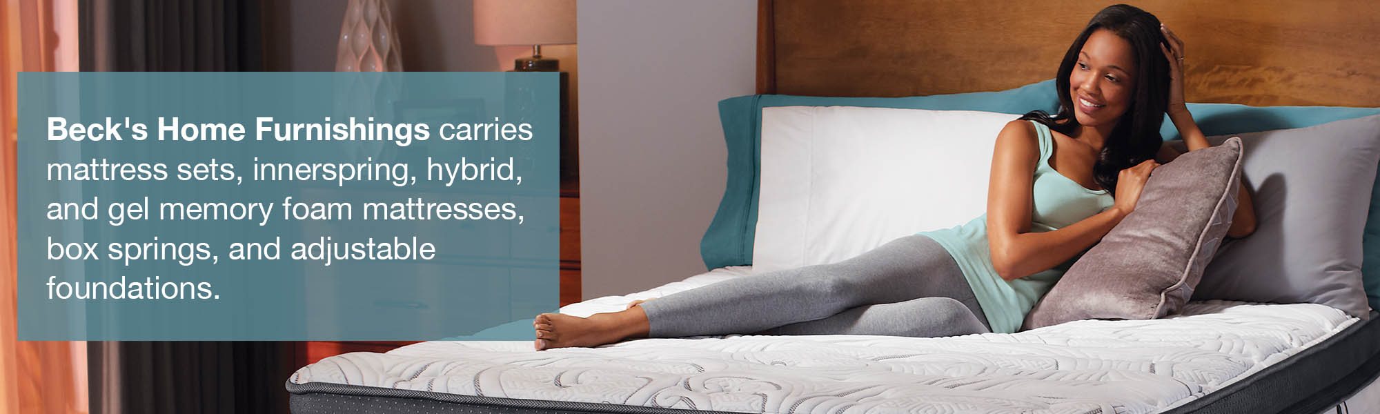 Beck's Mattress Web Banner