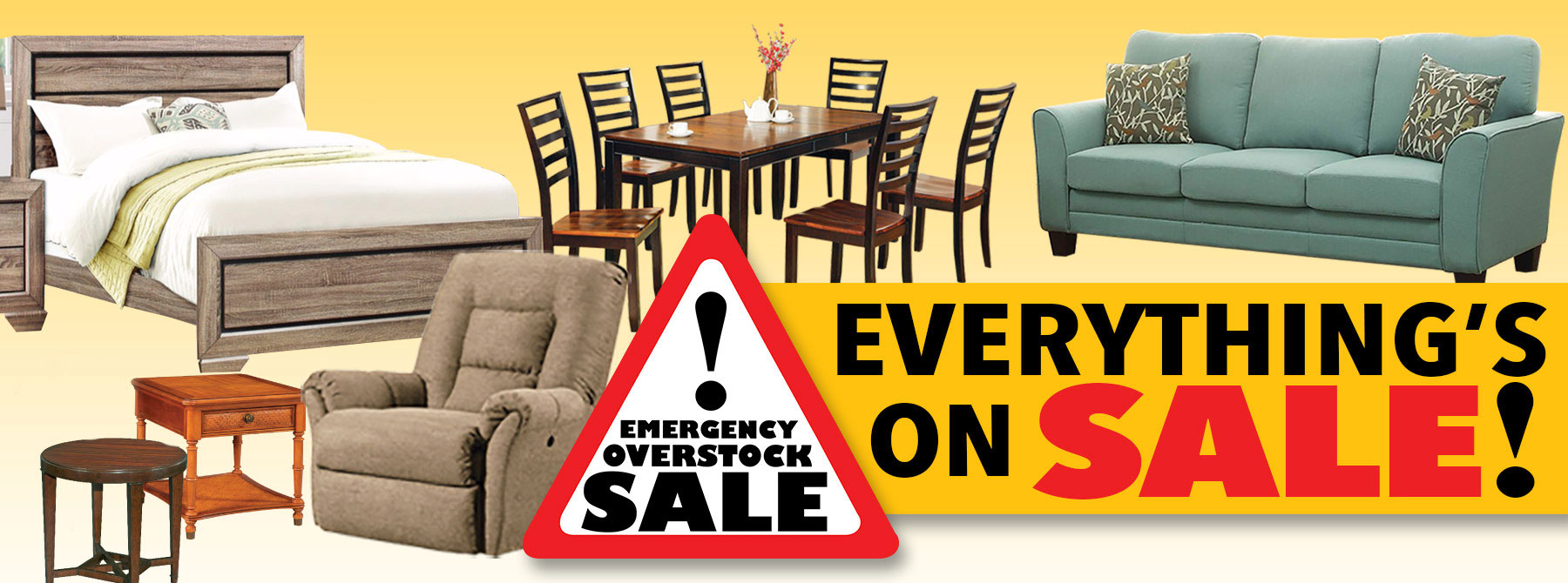 Emergency Overstock Sale