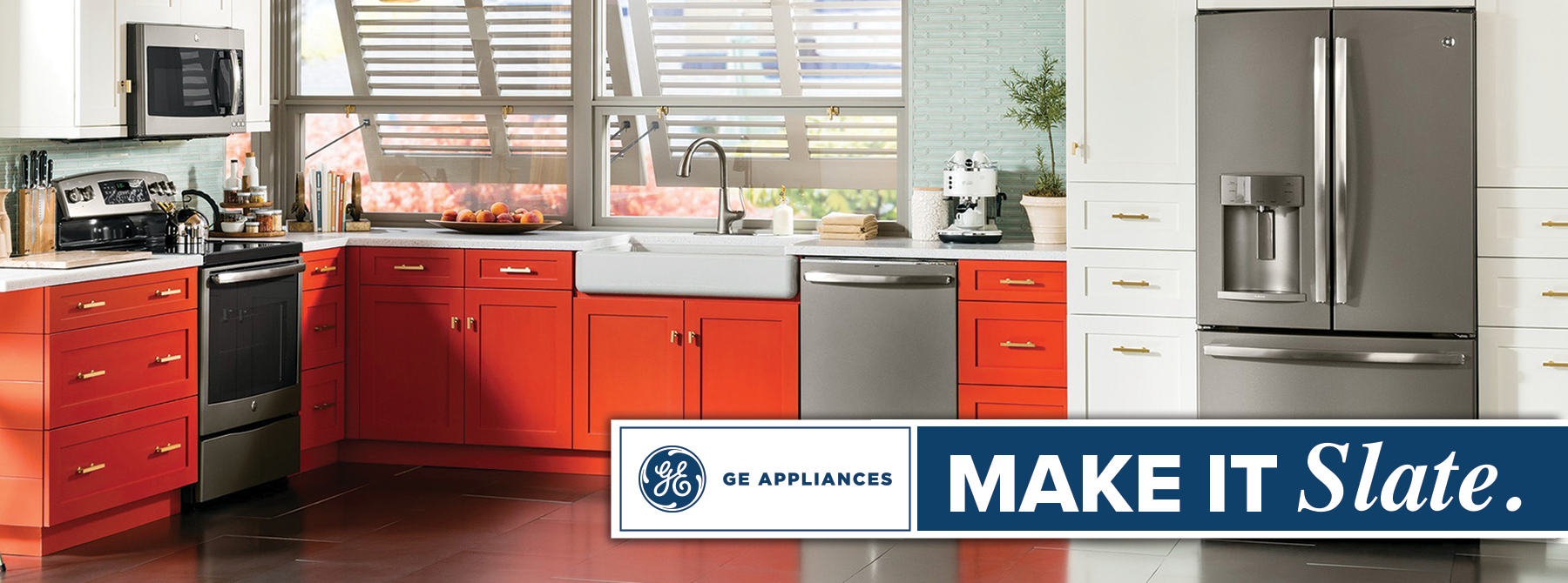 GE Appliances Make It Slate.