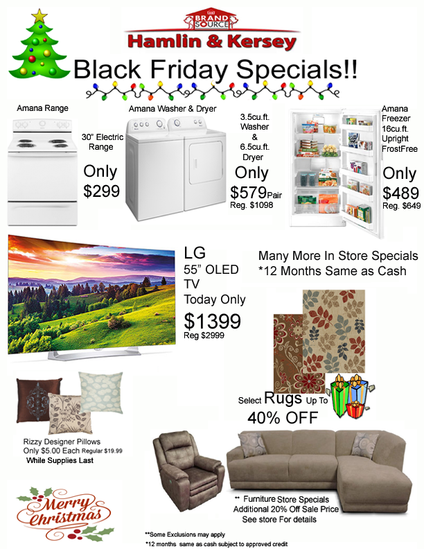 Black Friday Sales Ad