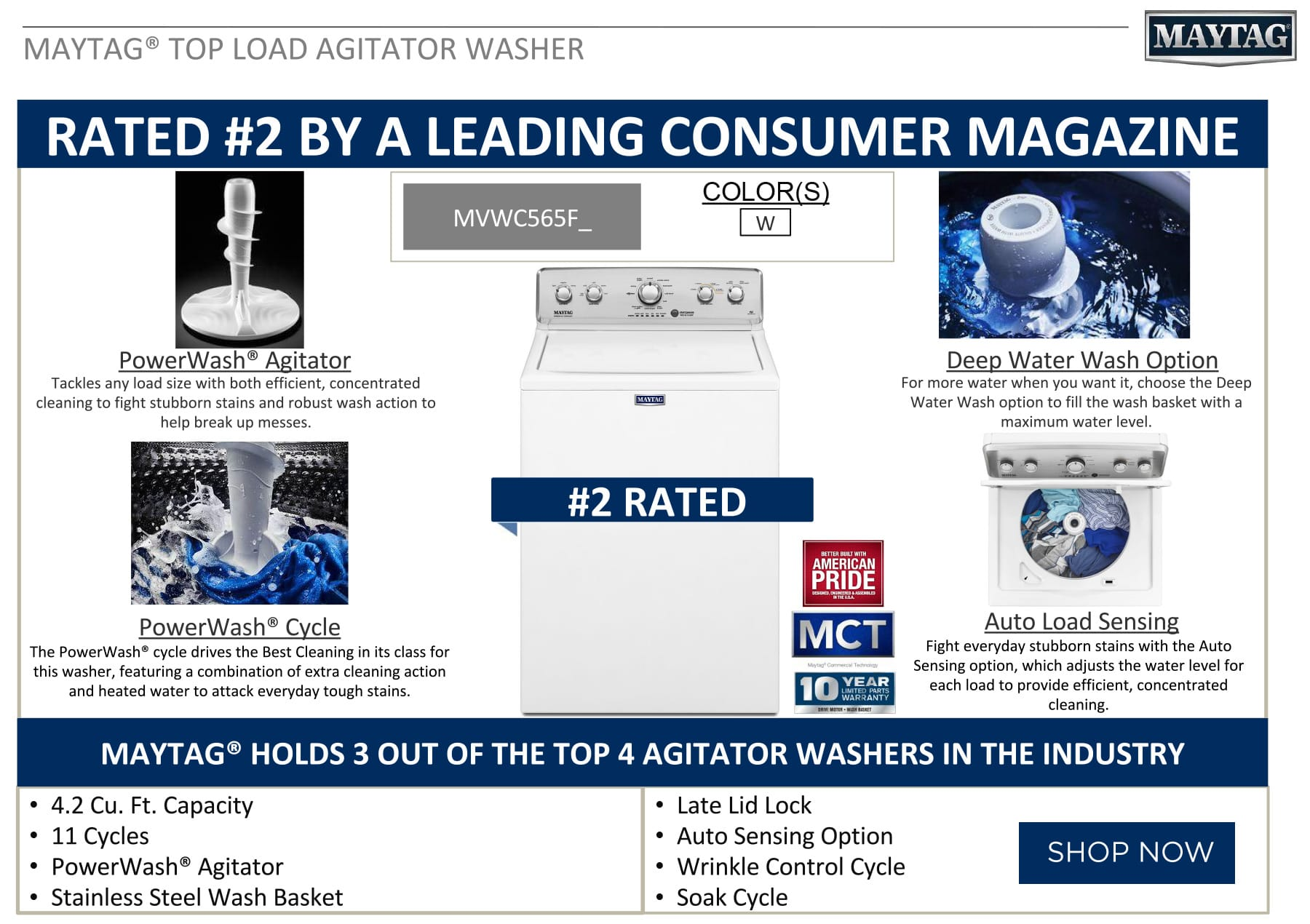 Maytag Washer Rated #2