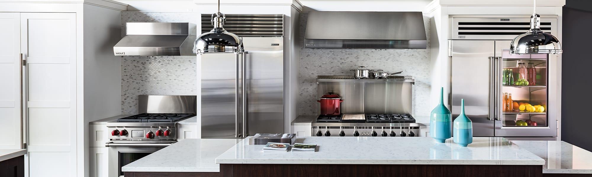 Sub Zero Wolf Living Kitchen