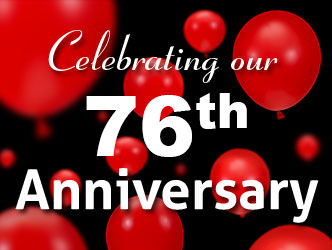 Celebrating our 75th Anniversary