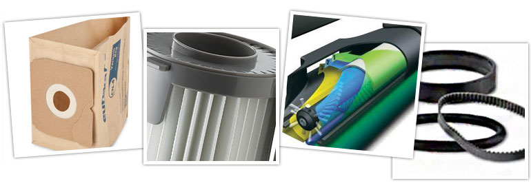 Vacuum Parts, Supplies, Bags and Filters