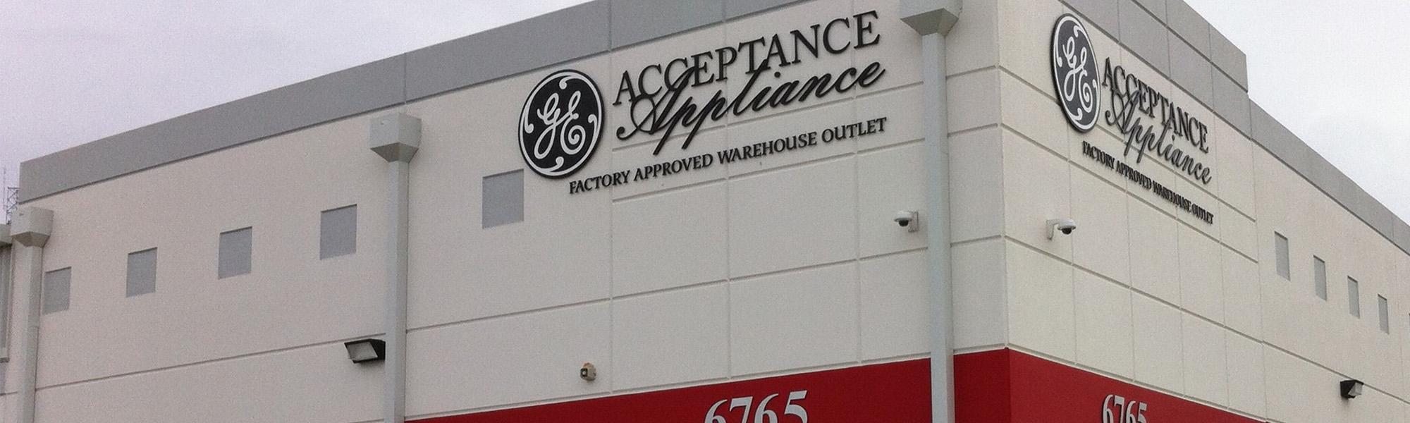 Acceptance Appliance Centers