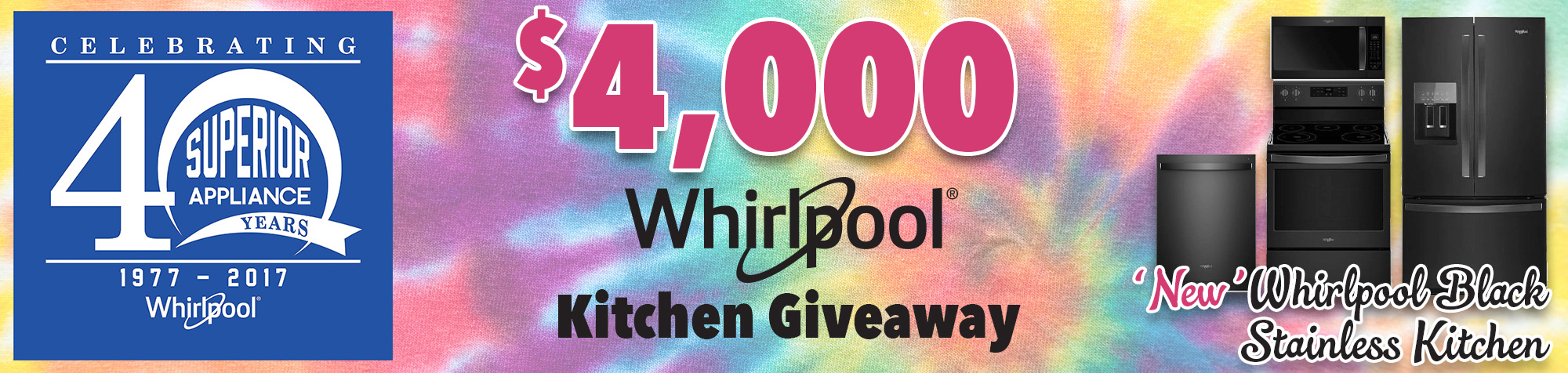 'New' Whirlpool Black Stainless Kitchen