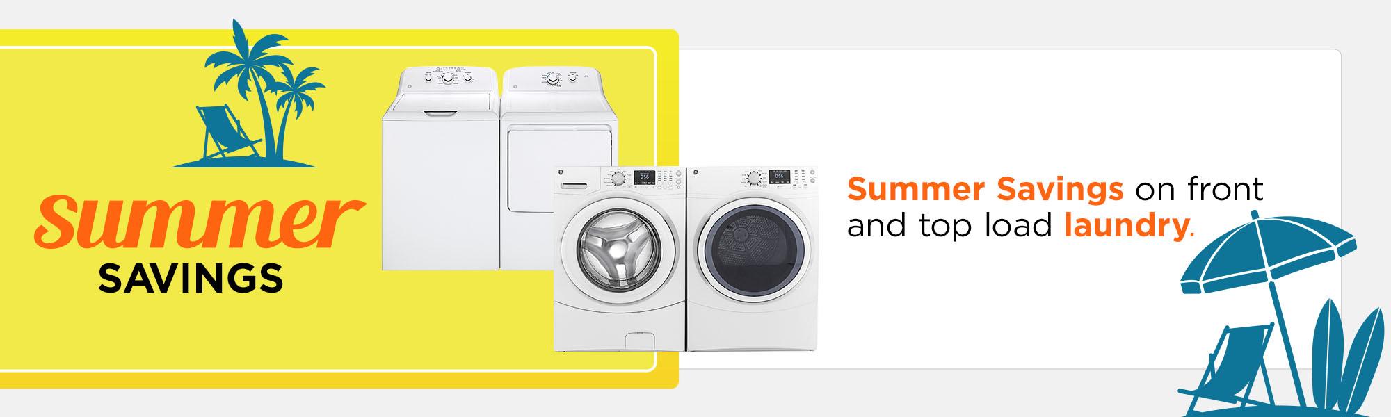 Summer Savings for Laundry