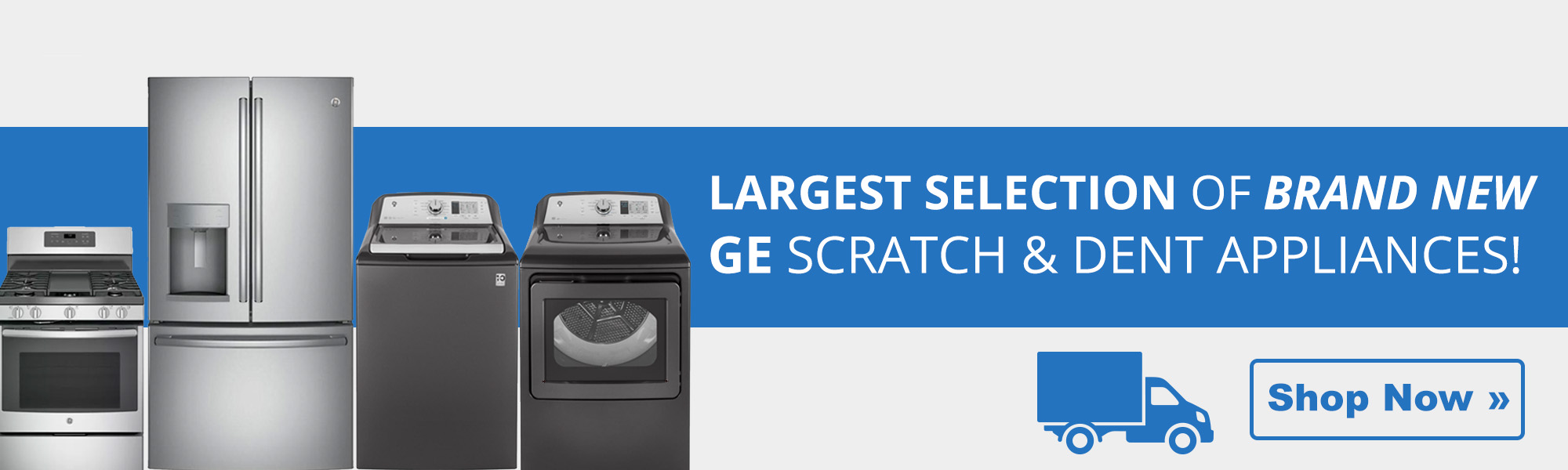 New GE Appliances and Scratch and Dent Outlet | Elwoods Appliance