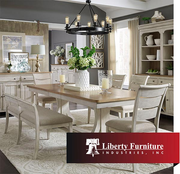Just Three Reasons Why Liberty Is One Of Today S The Best Known Furniture Makers Discover A Gorgeous Dining Set Perfect For Entertaining Or Bedroom