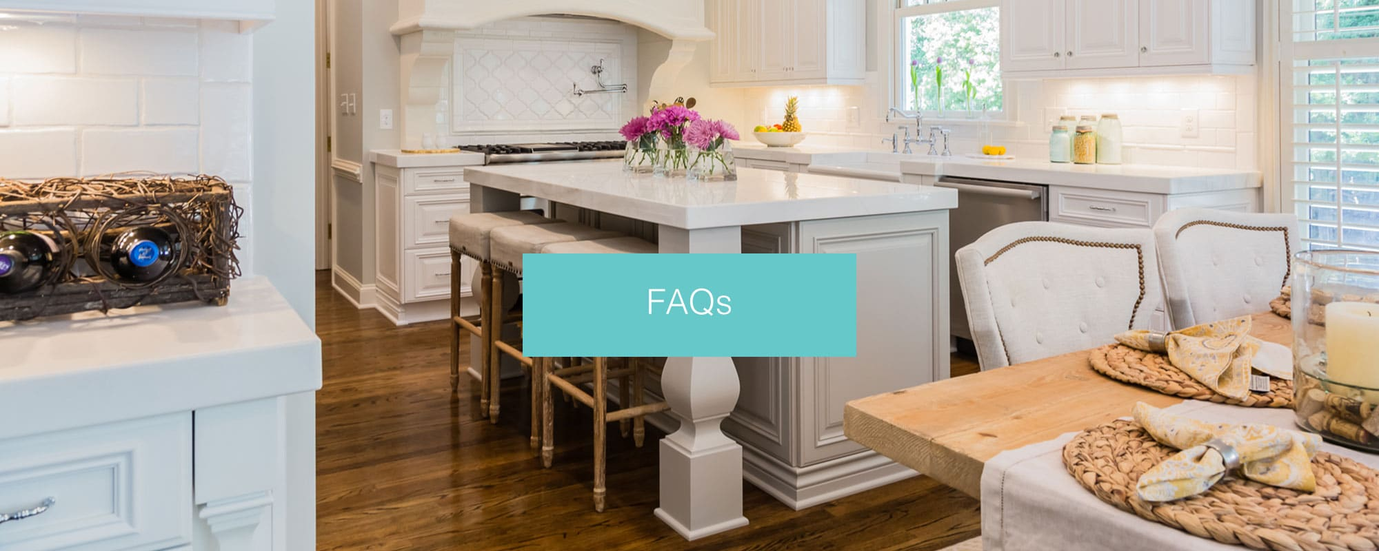 FAQ | Kitchen & Bath Galleries