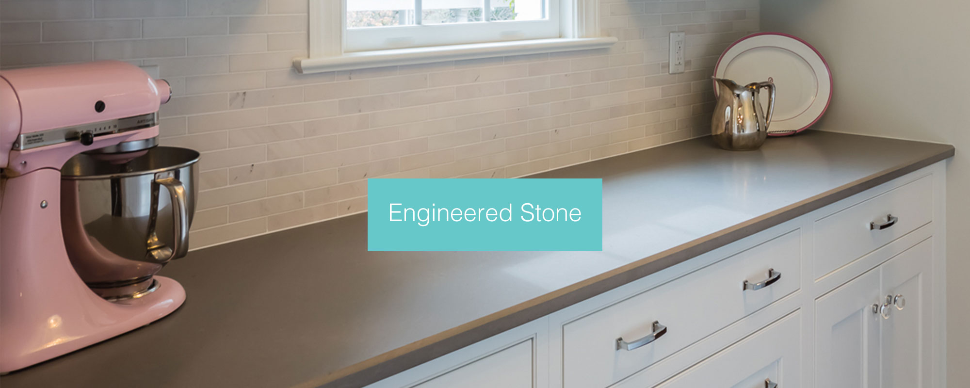 Engineered Stone Countertops, Commonly Referred To As U201cquartzu201d, Are A  Composite Material Made With Crushed Natural Stone Held Together With A  Man Made ...