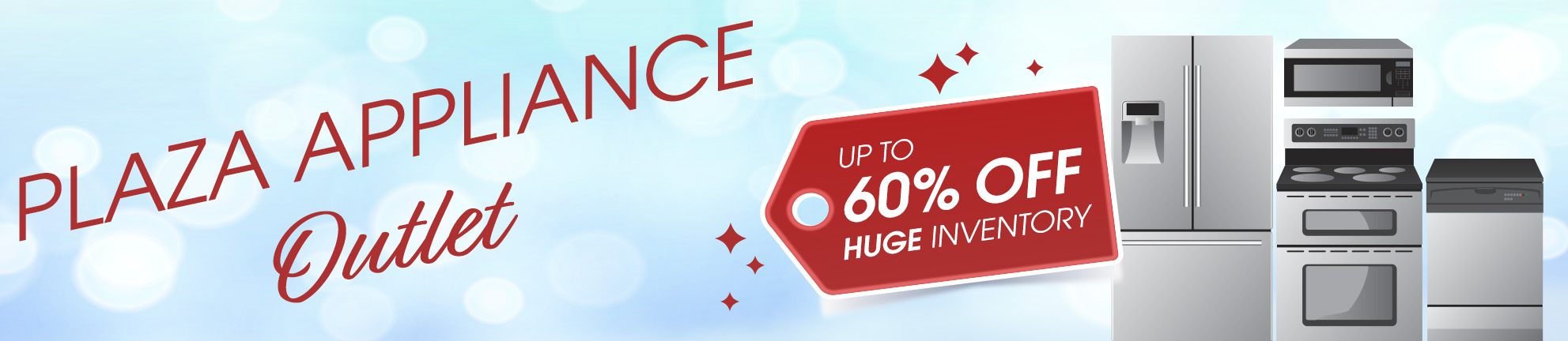 Up to 60% Off Outlet Appliances - HUGE Inventory Home Appliances ...