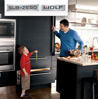 Sub-Zero and Wolf appliances