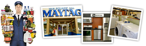 Visit Your Square Deal Maytag Store
