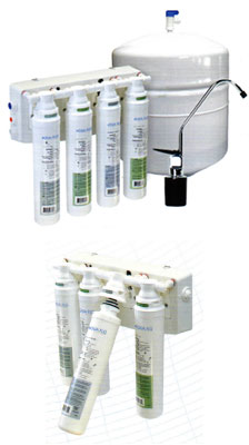 Aqua Flo Platinum QCRO & QCUF Drinking Water Systems