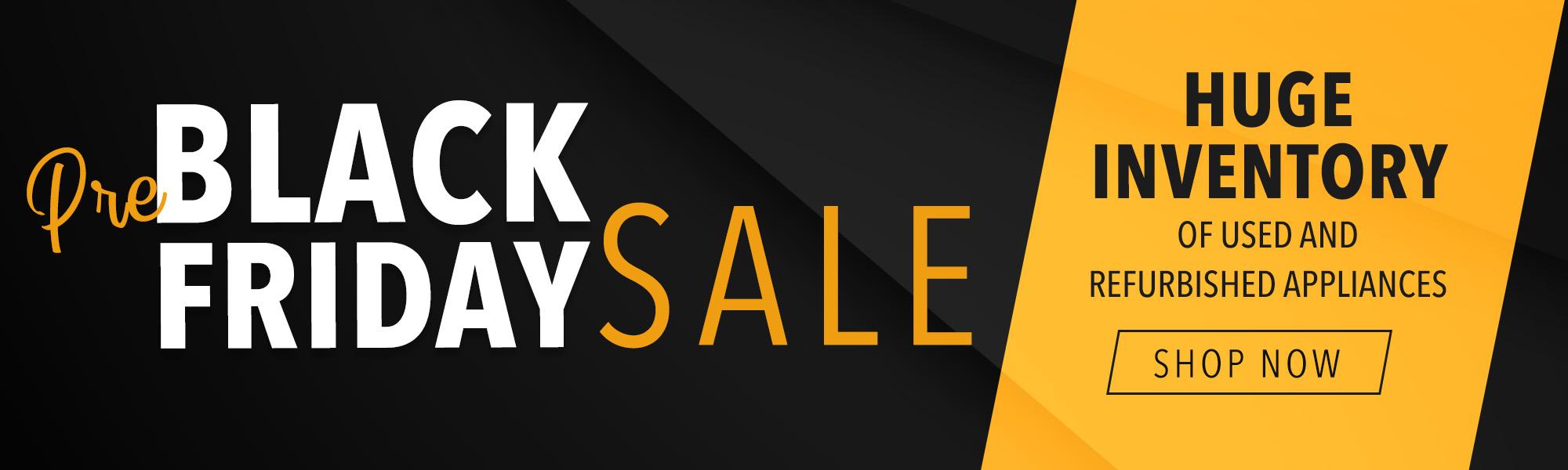 Pre Black Friday Sale Slider