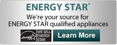 We sell ENERGY STAR qualified appliances