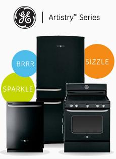 GE Artistry Series appliances