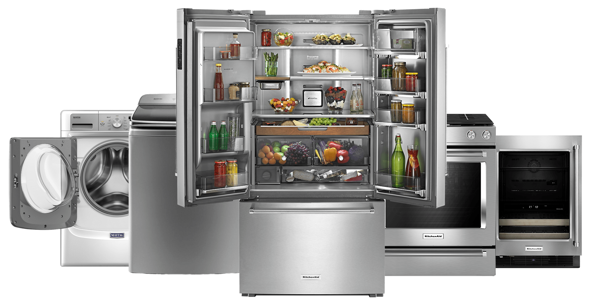 Luxury Kitchen Appliances with appliance service in New Hope ...