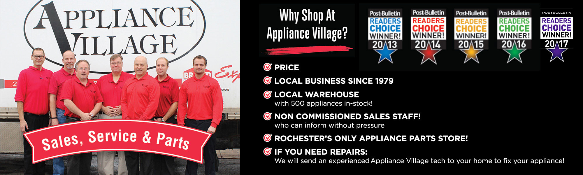 Appliance Village In Rochester Mn Frigidaire Electricdryer 5995298980 Parts Amana Appliances Black Friday Whirlpool Why Shop At