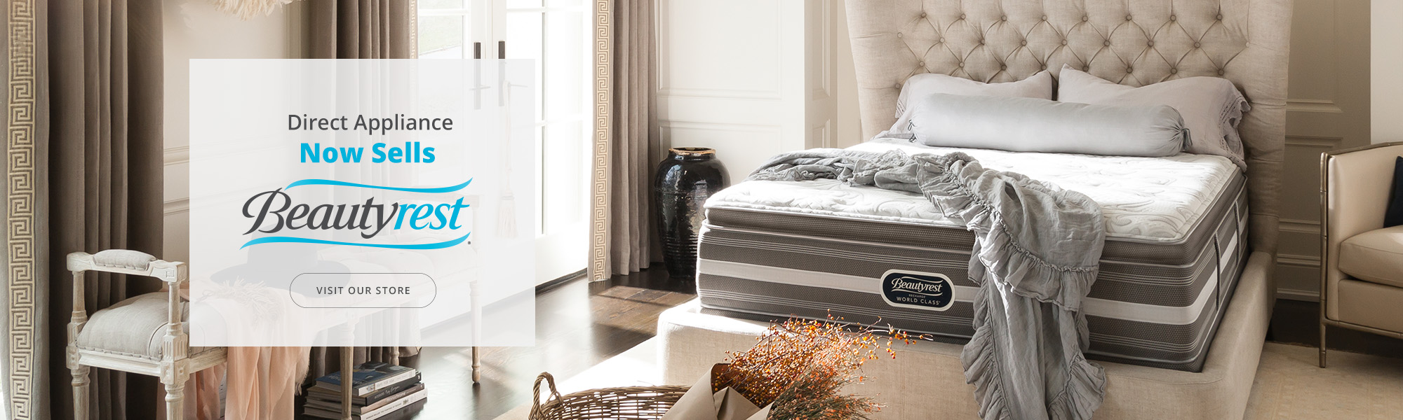 Now Selling Simmons Beautyrest