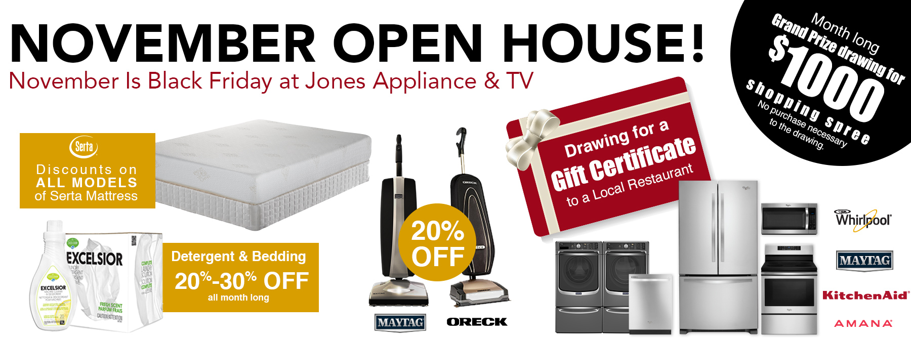 Shop Jones Home Appliance 4k Ultra Hdtv And Serta