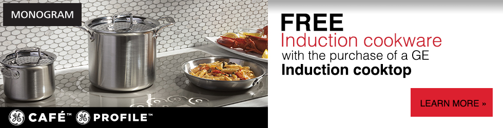 GE Induction Stove Cookware Promo