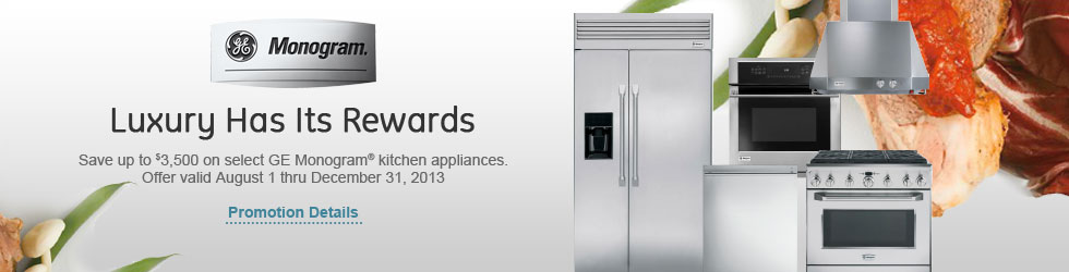 GE Monogram appliances