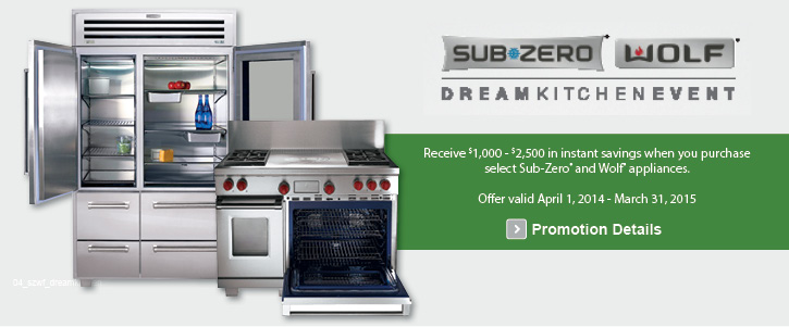 SubZero & Wolf appliances