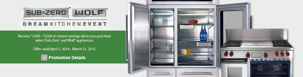 SubZero & Wolf appliances