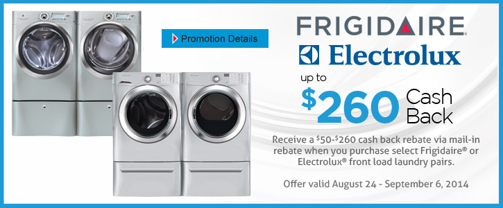 Frigidaire/Electrolux appliances