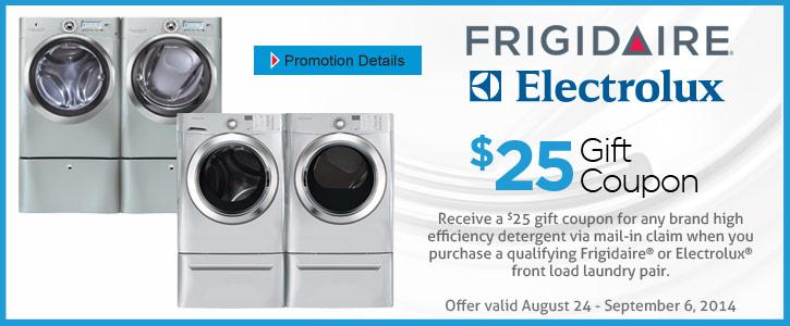 Frigidare/Electrolux applianes
