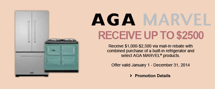 AGA MARVEL appliances