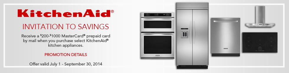 KithcneAid appliances