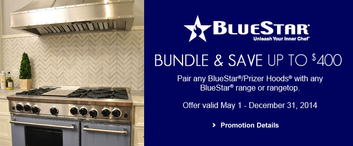 BlueStar appliances