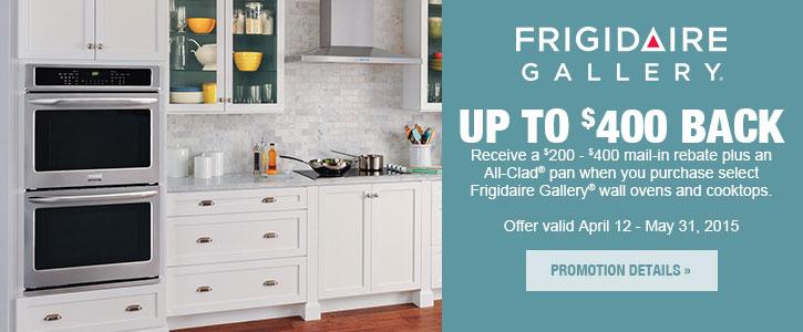 Frigidaire Gallery appliances