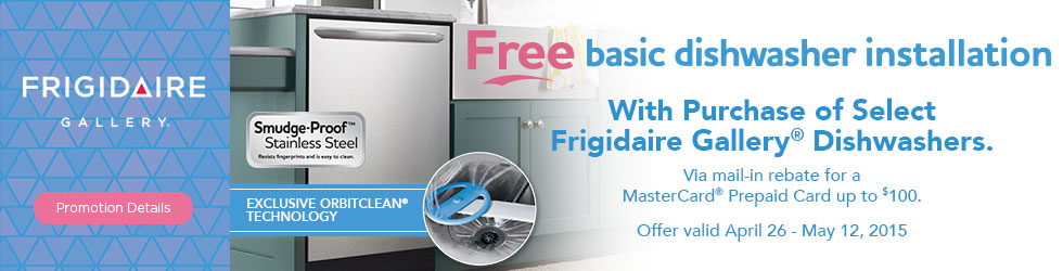 Frigidaire Gallery appliances